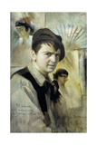Portrait of the Artist Giclee Print by Anders Leonard Zorn