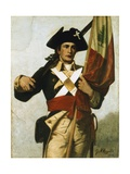 Soldier of the Revolution Giclee Print by George Willoughby Maynard