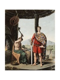 A Romanised Briton and a Feryllt Giclee Print by Robert Havell