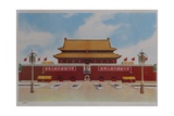 Tiananmen Entrance to Forbidden City Giclee Print
