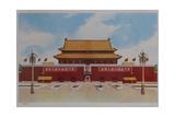 Tiananmen Entrance to Forbidden City Giclee Print