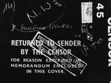 British Mail Censored During World War II Photographic Print