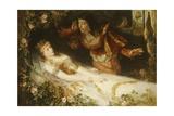 Sleeping Beauty Giclee Print by Richard Eisermann