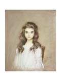 The Daughter of the Marquise of Elbe Giclee Print by Paul Cesar Helleu