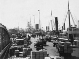 Landing Stage of Liverpool Docks Photographic Print