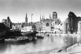 View of Danzig from River, 1939 Photographic Print
