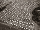 1950s-1960s Levittown Pennsylvania - Aerial View of a Housing Development Tract Photographic Print