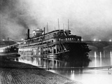 Paddlewheeler on the Mississippi Photographic Print