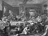 Engraving after an Election Entertainment Photographic Print by William Hogarth