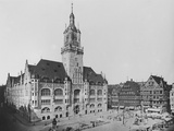 Stuttgart Town Hall Photographic Print