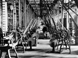 Interior of a Match Box Factory Photographic Print