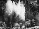 Explosion on the Waikato River Photographic Print