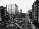 Washington Boulevard, Detroit, 1920 Photographic Print