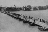 Katah Bridge across the Tigress, Baghdad Photographic Print