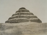 Step Pyramid of King Zoser Photographic Print