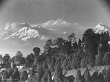 Kanchenjunga Mountain Photographic Print