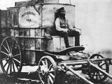 Mobile Darkroom at Crimean War Photographic Print
