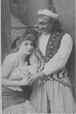 Actor and Actress in Ali Baba and the Forty Thieves Photographic Print