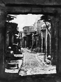 Narrow Damascene Street Photographic Print