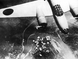 Japanese Bomber over Chungking Photographic Print