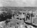 View of Harbor from Topkapi Sarayi Photographic Print