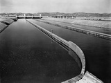 Imperial Dam and All American Canal Photographic Print