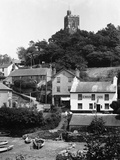 Noss Mayo Harbour, Village and Church Photographic Print