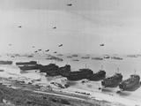 Landing on Omaha Beach Photographic Print