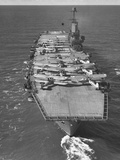 HMS Ark Royal Aircraft Carrier Reproduction photographique