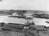 US Fleet in Panama Canal Photographic Print