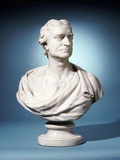 Bust of Sir Isaac Newton Attributed to Joseph Wilton Photographic Print