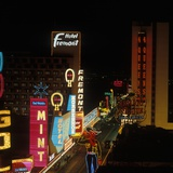 1960s Las Vegas Fremont Street Photographic Print