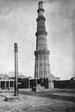 Iron Pillar in Qutab Minar Complex Photographic Print