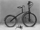 An Early Bicycle Photographic Print