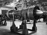 The Bristol Olympus Turbo Jet Photographic Print