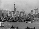 Lower Manhattan and Waterfront Photographic Print