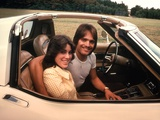 1970s Young Couple Man Woman Sitting Cockpit of Chevrolet Corvette Car Sports Photographic Print