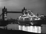 Finnpartner Ferry at Tower Bridge Photographic Print