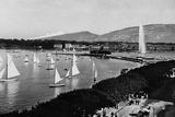 A View of Geneva Papier Photo