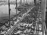 Opening of the Sydney Harbour Bridge Photographic Print