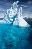 Iceberg, Gerlache Strait, Antarctic Peninsula Photographic Print