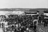 Rough Riders Returning from Spanish-American War Photographic Print
