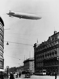 Graf Zeppelin Ii over Berlin Photographic Print