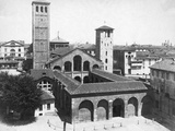 Sant'Ambrogio Basilica Photographic Print