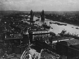 Tower Bridge on the River Thames Photographic Print