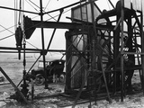Persian Oil Well Pump Photographic Print