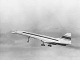 First Flight of the Concorde Photographic Print
