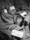 Bags of Censored Wartime Mail Photographic Print