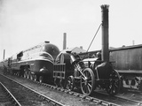 Coronation Scot and Rocket Locomotives Photographic Print