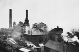 Pleasley Colliery in Derbyshire Reproduction photographique